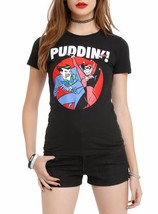 Batman The Animated Series The Joker & Harley Puddin Girls T Shirt - $10.99