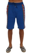 New $380 Dolce & Gabbana Men Blue Cotton Above Knees Casual Shorts It44-Xs - $143.73