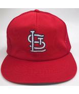 Vintage ANNCO St Louis Cardinals Mesh Trucker Hat OSFM Red MLB Snapback - $9.90