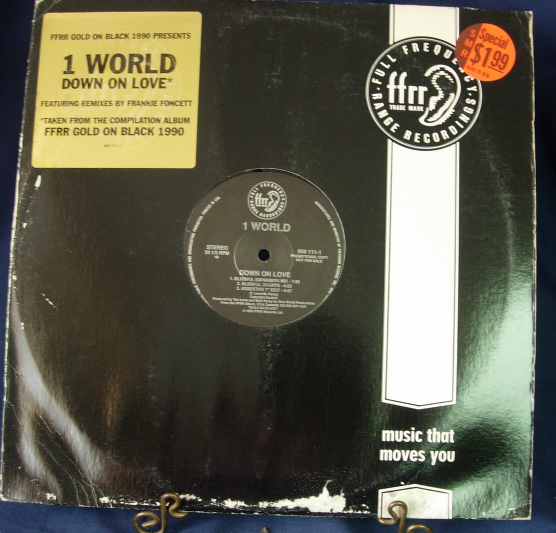1 World - Down On Love - FFRR 869-111-1