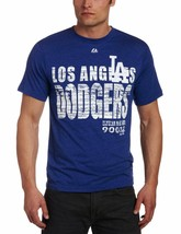 Men's Los Angeles Dodgers First Appeal S/S Crew Neck Tee Large NWT Ships Free! - $18.13