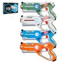 JOYMOR Laser Tag Guns Set of 4 Tag Blasters ,Multiplayer Mode,Best Toy f... - $54.78