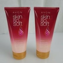 Avon Skin So Soft Skindisiac + Passionfruit Silky Body Wash Set Lot 2 New - $18.80