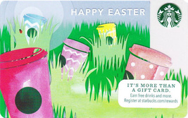 Starbucks 2014 Easter Collectible Gift Card New No Value - $2.99