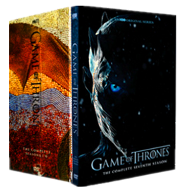 Game of Thrones The Complete Series Seasons 1-7 DVD Boxset 33 Disc Free Shipping