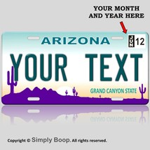 Arizona State License Plate Tag Personalized Custom The Grand Canyon Sta... - $14.84