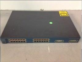 Cisco Systems Catalyst 3500 Series XL WS-C3524-PWR-XL-EN 24 Port Ethernet Switch - $25.00