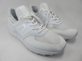 New Balance 574 Sport Size 9.5 M (D) EU 43 Men's Running Shoes White MS574SWT