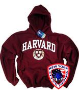 Harvard Shirt Hoodie Sweatshirt University Clothing Apparel - $34.99