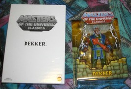 Dekker MOTUC Masters of the Universe Classics MOSC MOC Skeletor He-Man - $34.00