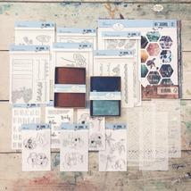 NEW. Complete Bundle. Art Journal Traveler's Notebook. Elizabeth Craft image 2