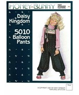 Vtg 1987 Girl's BALLOON PANTS Daisy Kingdom Pattern 5010 Sizes 4-8 UNCUT - €10,58 EUR