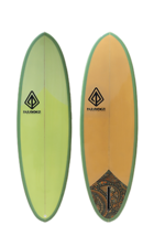 "Paragon Retro Egg 6'6"" Squash Surfboard - $400.00"