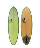 "Paragon Retro Egg 6'6"" Squash Surfboard - $400.00"