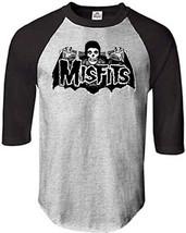 Misfits Batfiend-Large Raglan Baseball Jersey t-shirt - $24.18