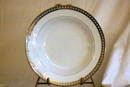 """Mikasa 2003 Platinum Symmetry Soup Bowl 8 1/2"""" #LS620 - $10.39"""