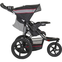 Lightweight Jogging Stroller Cargo Storage Cup Holder Sun Visor All Terrain Tire - $71.67