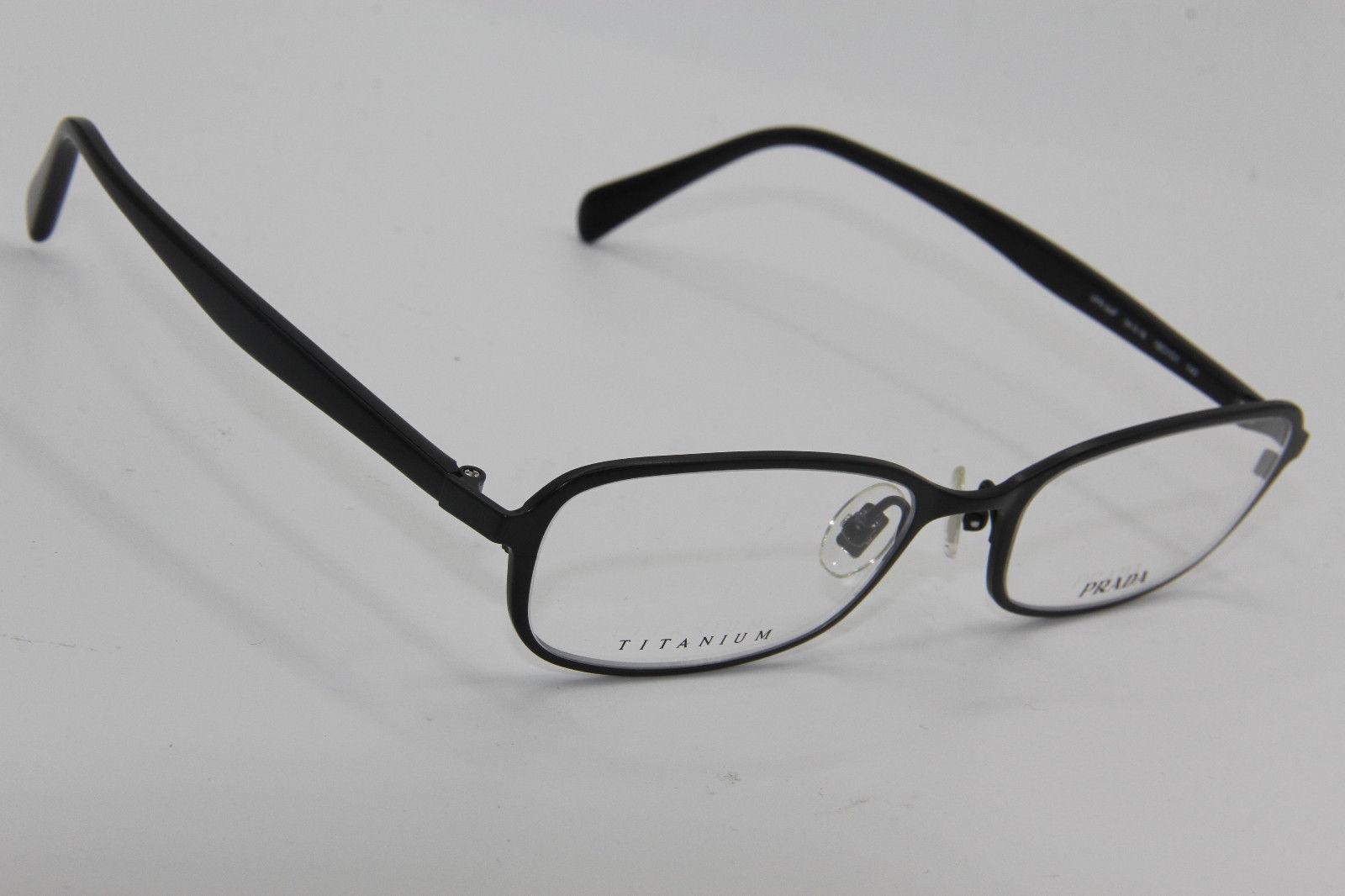 aa7fbf801d9b New Prada Vpr 64P 1BO1O1 Black Eyeglasses and 50 similar items. 57