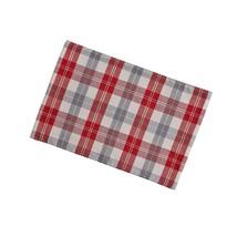 Al Plaid Placemat Set - Red - $60.99