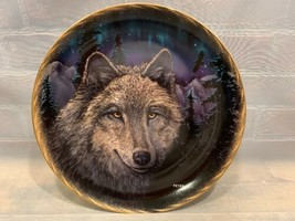 Evening Twilight Profiles Of Night #307A Bradford Exchange Plate Wolf Wolves - $19.79