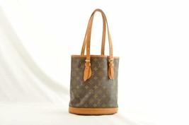 LOUIS VUITTON Monogram Bucket PM Shoulder Bag M42238 LV Auth 9955 **Sticky - $210.00