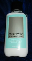 Bath & Body Works FRESHWATER Men's Collection 24 HR Moisture Lotion 8 fl.oz.NEW - $12.82