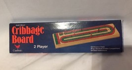 Solid Wood Cribbage Game No. 62 -New - $14.46