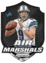 An item in the Sports Mem, Cards & Fan Shop category: 2014 Matthew Stafford Panini Prizm Air Marshals - Detroit Lions