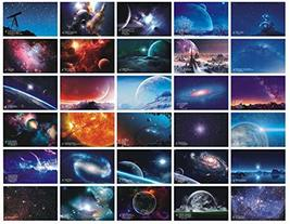 Beautiful Travel Scenery 30PCS Artistic Retro Postcards Dreamy Romantic ... - $20.54