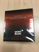 Mont Blanc Homme Exceptionnel Cologne 2.5 Oz Eau De Toilette Spray image 2