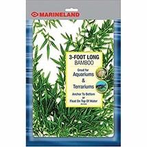 Marineland Bamboo 3 Feet Décor For aquariums and Terrariums Model4743190... - $19.35