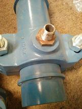 Two 3 inch  pipe with couplers image 3