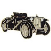 MG TC Midget Classic Black Car Pin 1 INCH - $4.94