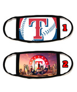 Texas Rangers Face Mask with black string reusable washable  #1 - $14.54+