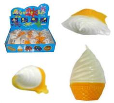 12 SPLAT ICE CREAM wholesale novelty joke fake gag toy icecream cone fun... - $11.72