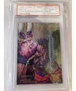 1995 ULTRA XMEN #5 Bishop Hunters & STALKERS GOLD Chase PSA 10 Low Pop MCU - $3,959.99