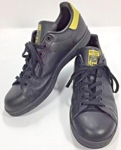 Adidas Stan Smith Mens BB0208 Classic Sneakers Shoes Black & Gold US 7 UK 6.5 - $44.05