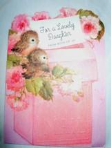 Vintage For A Lovely Daughter Ambassador Cards 1960s - $3.99