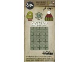 Sizzix Sidekick Side-Order Set, Winter by Tim Holtz #663098