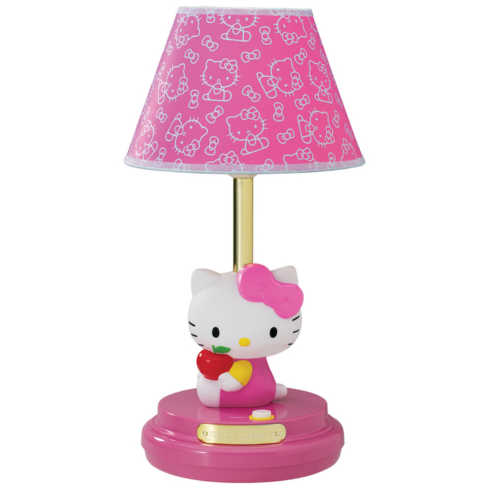 Hello Kitty Pink  Children's  Table Lamp