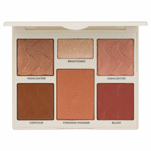 New Cover FX Perfector Face Palette Contour Blush Highlighter Medium-Dee... - $14.85