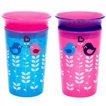 Munchkin Miracle 360 Sippy Cup, Pink/Blue, 2 Count - $14.39