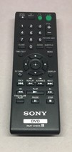 SONY remote control for a  dvd player part no. RMT-D197A - $7.70