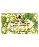 Florinda Floral Air Ribes Flowers Vegetal Soap Bar 100g 3.5oz - $6.28