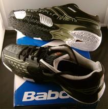 Babolat Drive LTD Black Titanium Gray Tennis Shoes NEW Michelin OCS Vibr... - $50.99