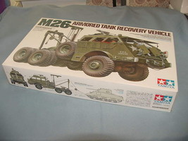 Tamiya M26 Armored Tank Recovery Vehicle Plastic Model 1/35 Military Mini 35244 - $115.00