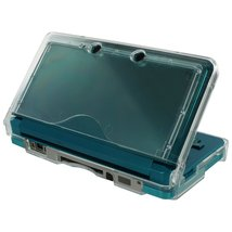 ZedLabz crystal case for Nintendo 3DS (old 2012 model) - Protective hard armor c - $2.95+