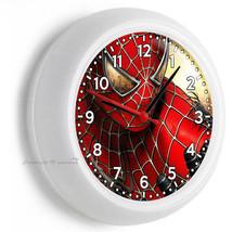 Amazing Spiderman Peter Parker Superhero Wall Clock Boys Bedroom New Room Decor - $23.39