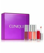 Clinique Non-Stop Pop - Pop Splash 4 Piece Lip Gloss Set - NIB - $18.50
