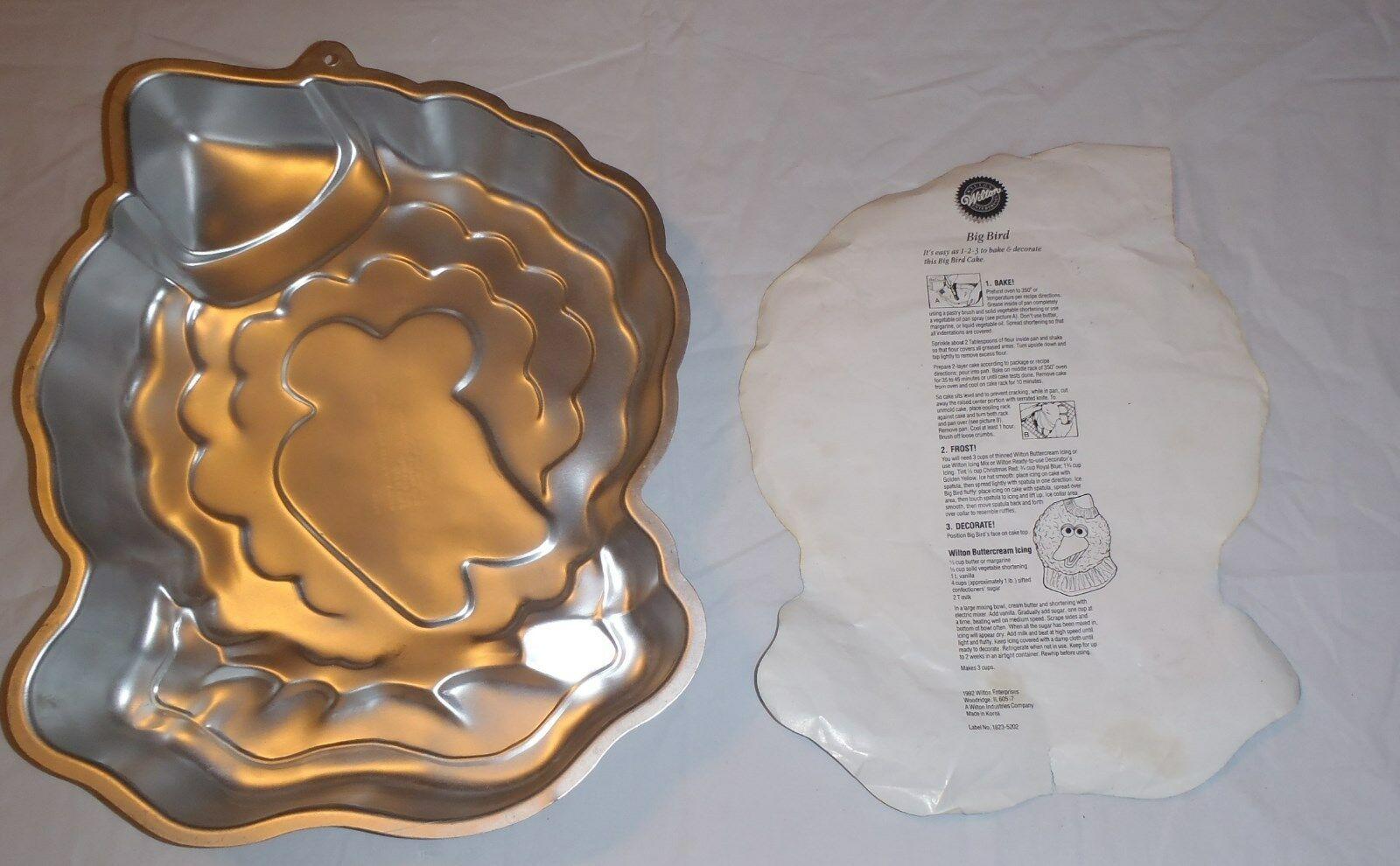 Wilton Big Bird Cake Pan with Instructions 2105-9476